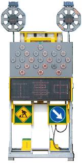 ソーラー式LED電光標示盤BIG