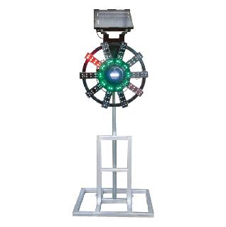 ソーラー式大型回転灯 タイプD