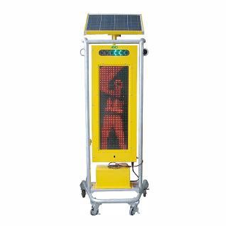 ソーラー式LED電光標示盤 縦型 タイプA