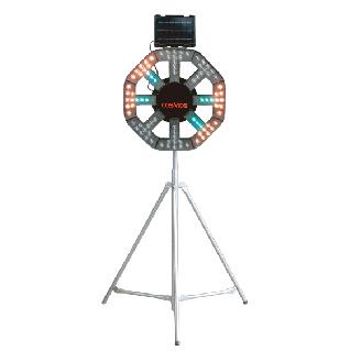 ソーラー式大型回転灯 タイプC